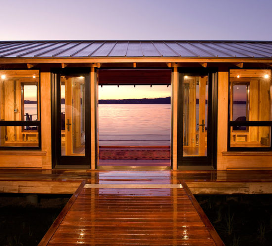 Point Monroe Boat House - BC&J Architects